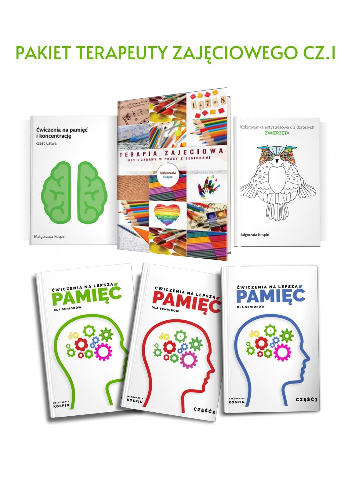 terapia zajęciowa, pakiet terapeuty zajęciowego, zajęcia dla seniorów, ćwiczenia dla seniorów, terapia seniorów